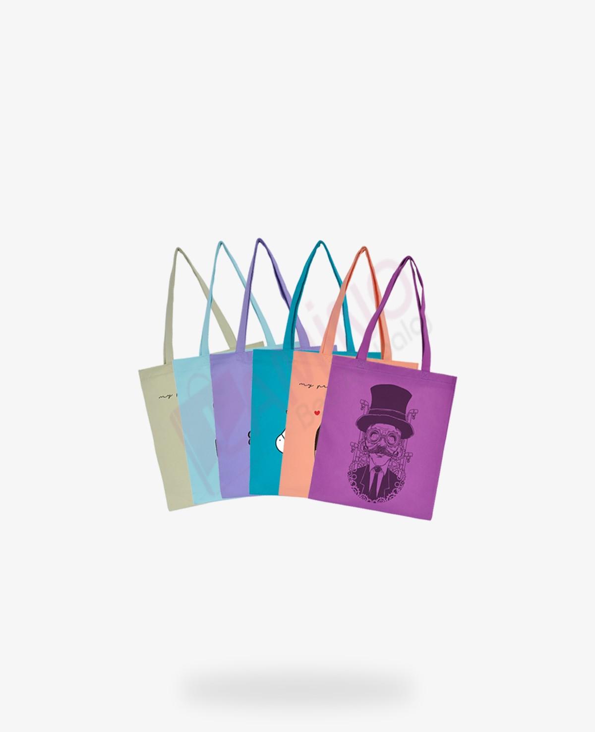 Renkli Gabardin Çantalar