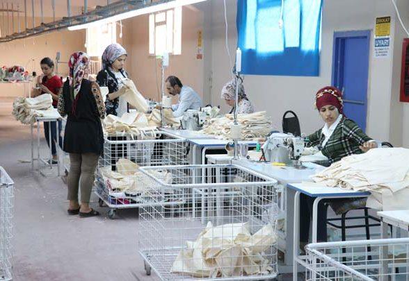 Siirt Organize Sanayi Bölgesinden Bez Çanta ile  Avrupa'ya açıldı