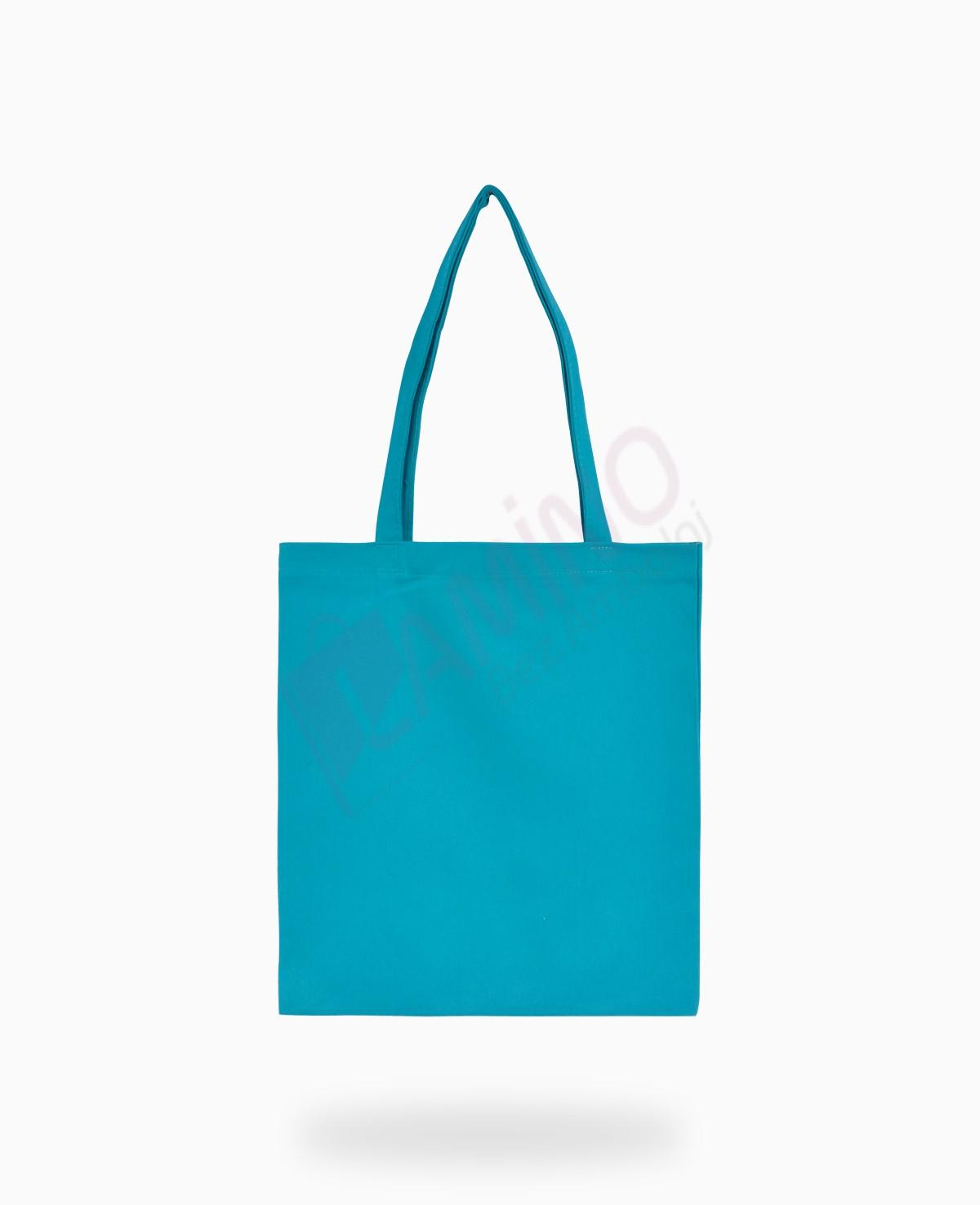Mavi Renkli Gabardin Çanta