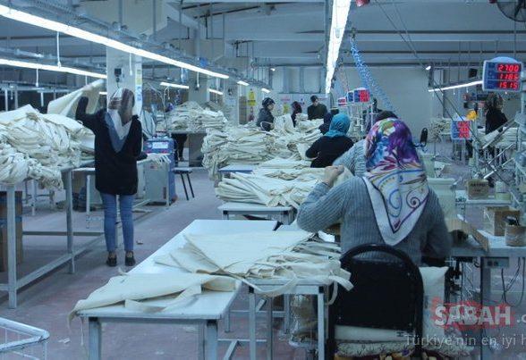 Siirt'ten 25 ülkeye bez çanta ihraç ediliyor