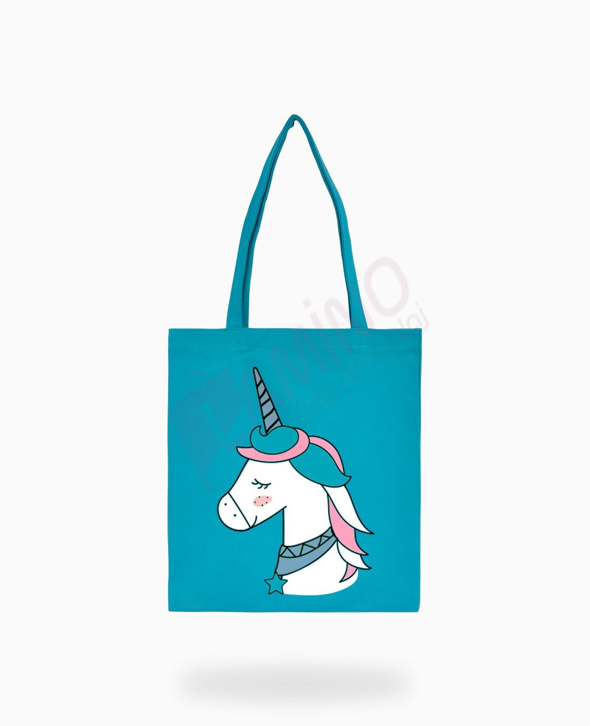 Unicornlu Gabardin Çanta