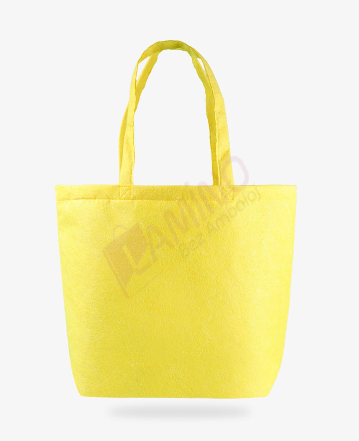 Sarı Keçe Çanta